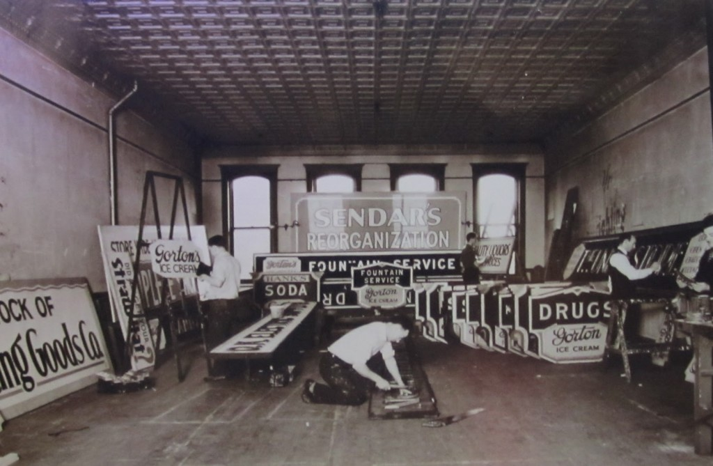 Ace Sign Company in the early days